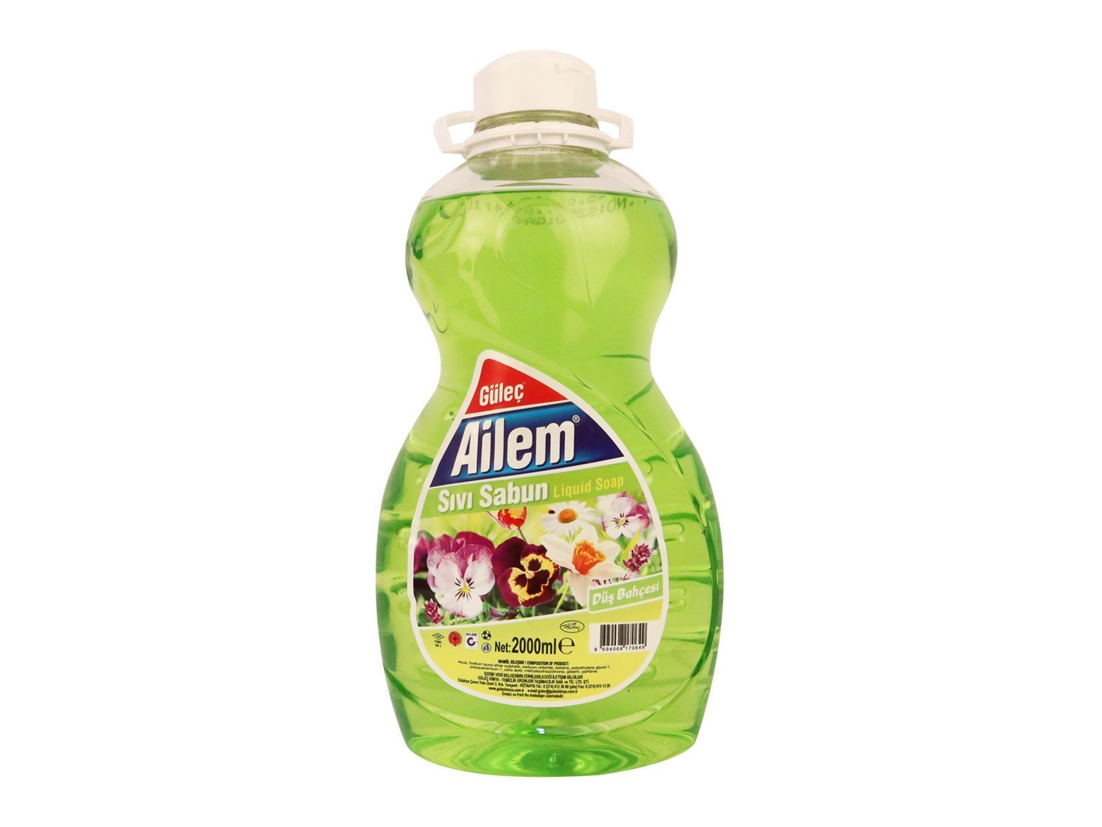 Ailem Sıvı El Sabunu 2000 ml Yeşil