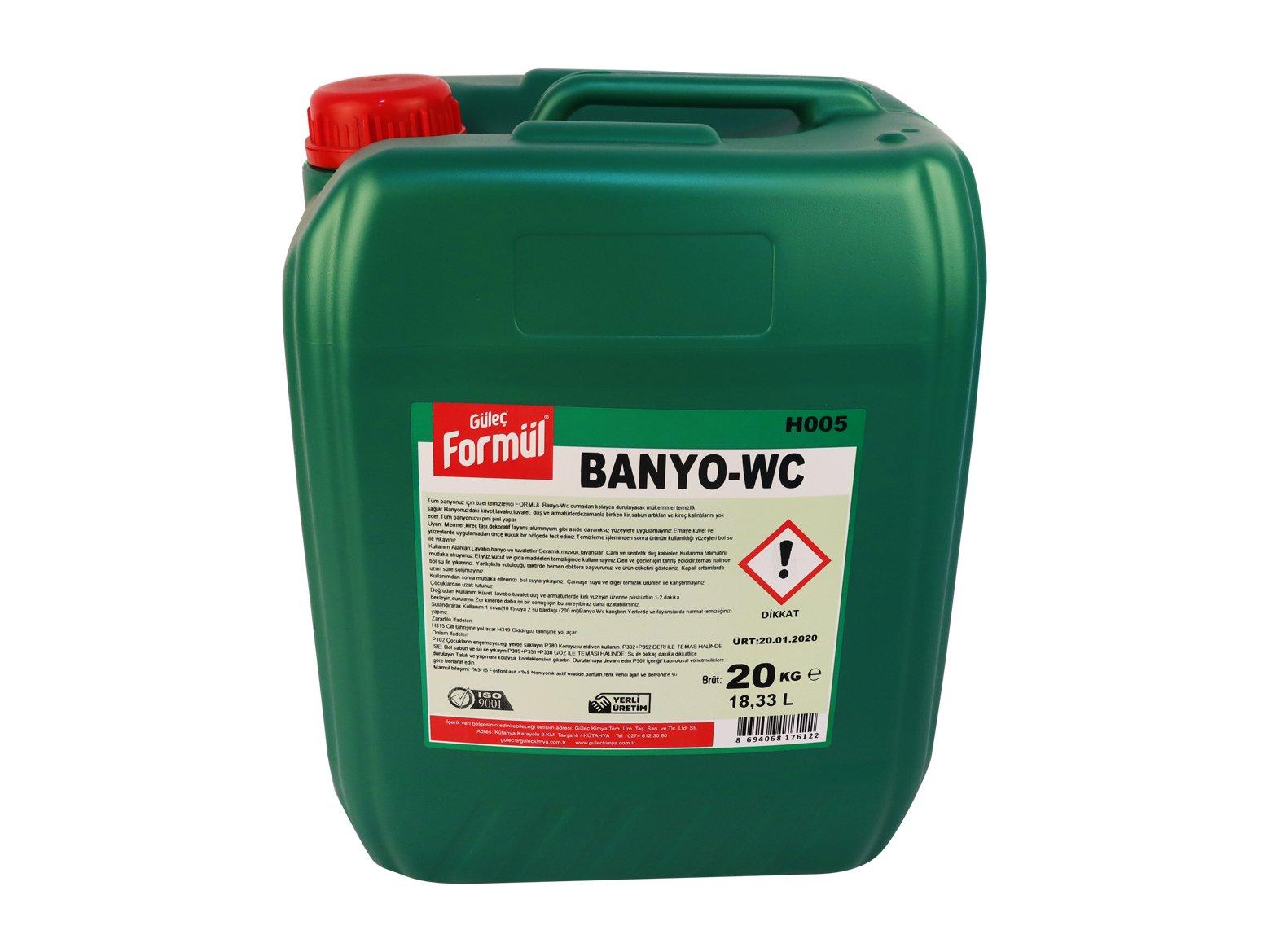 Formül Banyo-Wc Parlatıcı