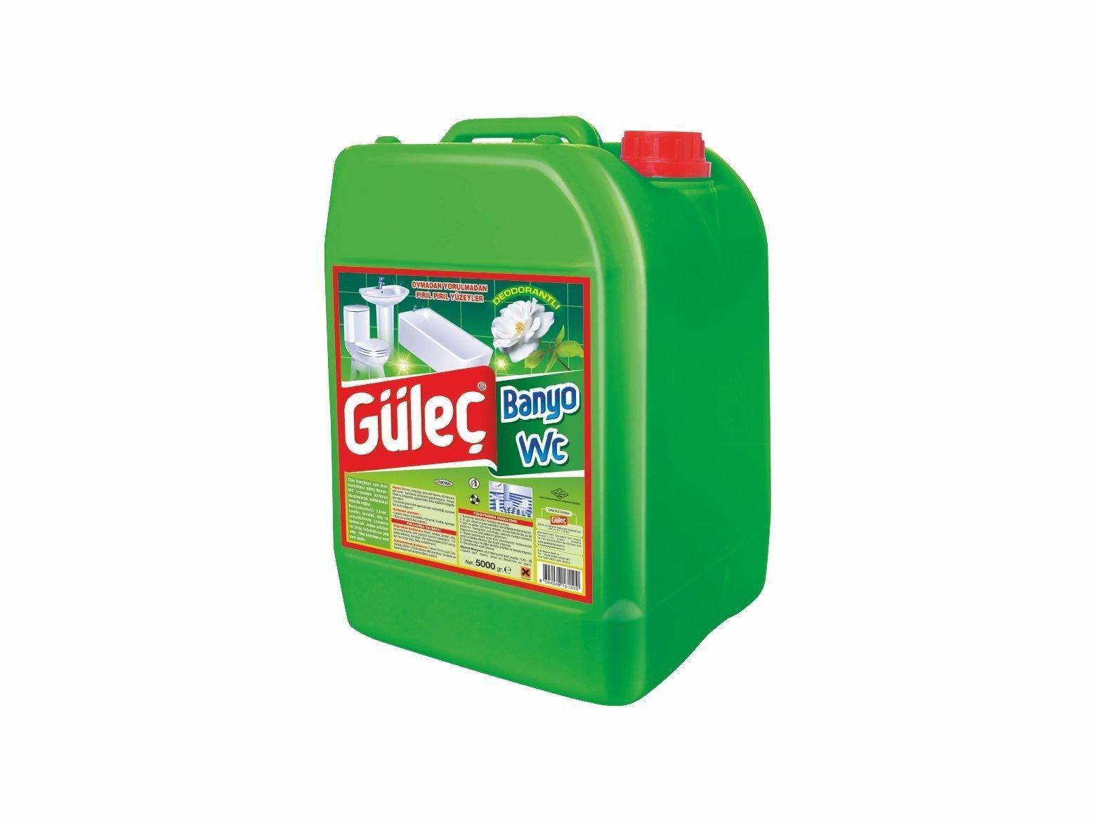 Güleç Banyo-Wc Parlatıcı 5000 ml