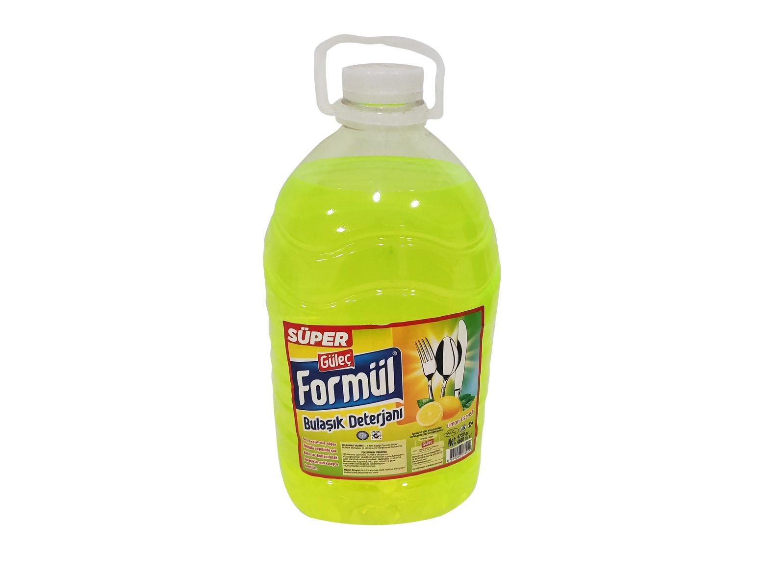 Formül Sıvı Bulaşık Deterjanı Süper 5000 ml