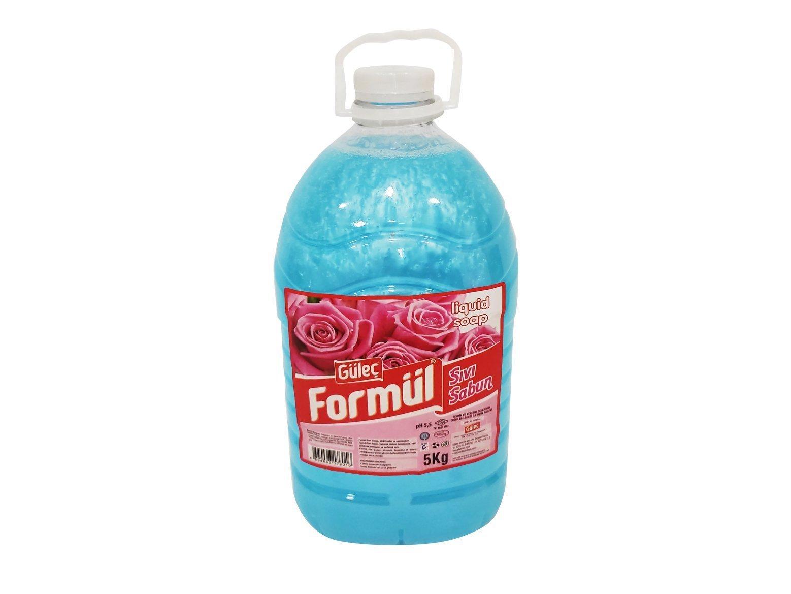 Güleç Sıvı El Sabunu Mavi Sedefli 5000 ml