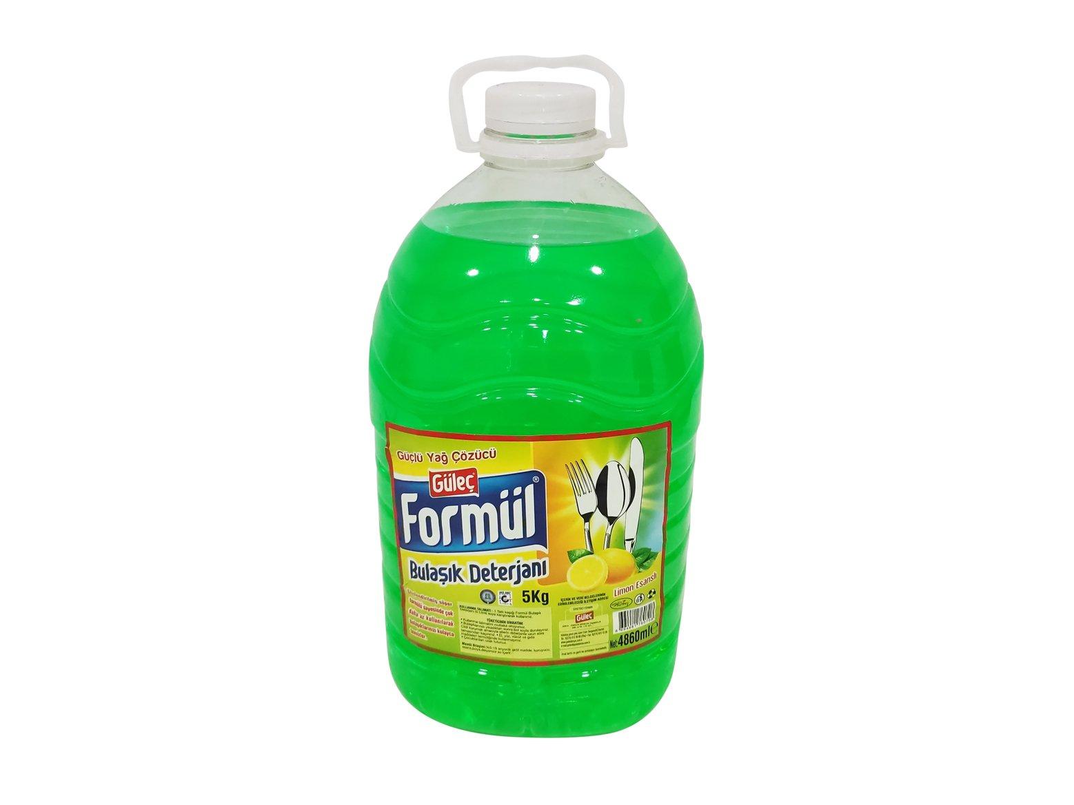 Formül Sıvı Bulaşık Deterjanı 5000 ml