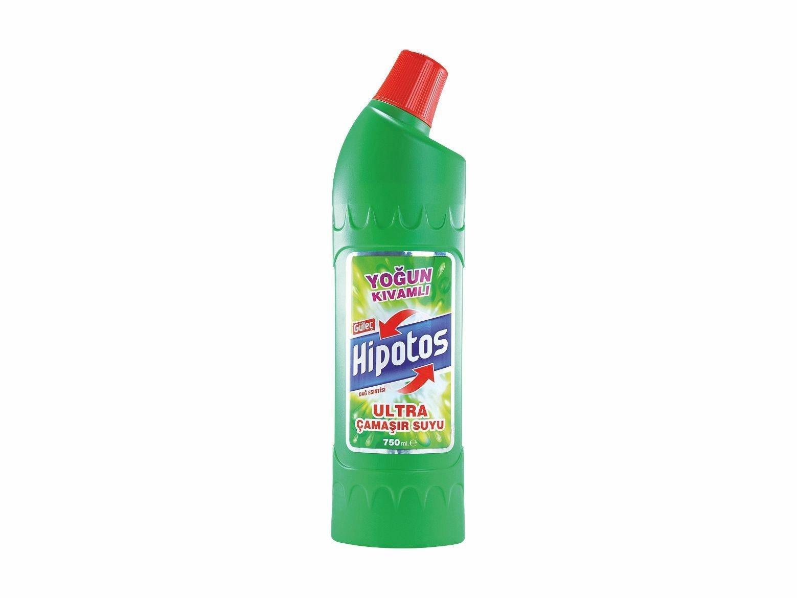 Güleç Hipotos Ultra Çamaşır Suyu 750 ml Yeşil